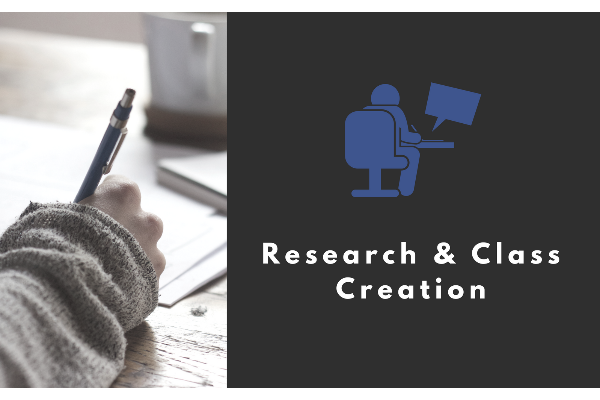 Research & Class Creation