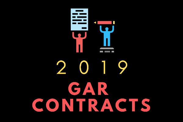 2019 GAR CONTRACTS