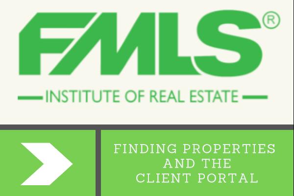 FMLS: Matrix Basics: Finding Properties and the Client Portal