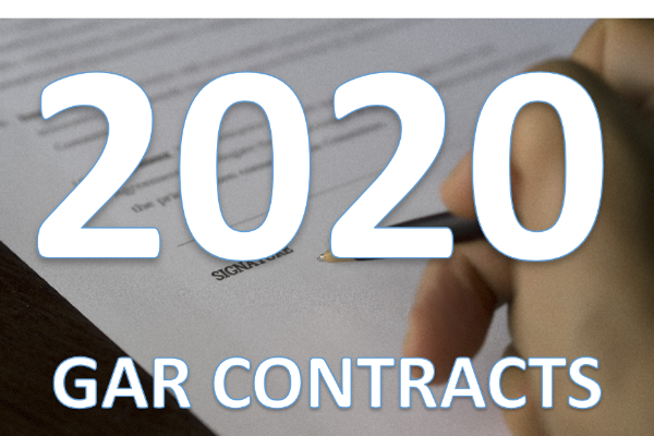 2020 GAR Contract Updates