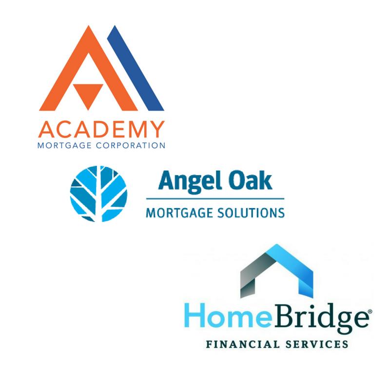 Academy Mortgage, Homebridge Financial & Angel Oak Mortgage